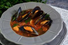 Supă de scoici cu roşii şi usturoi Ratatouille, Ethnic Recipes, Food, Essen, Meals, Yemek, Eten