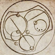 """""""I Love You"""" In Circular Gallifreyan....Im going to need to put this somewheres on me!♥♥"""