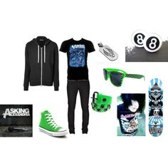 Scene boy by cupcakies on Polyvore