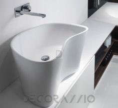 Best sinks for your bathroom  Накладная раковина Falper Level 45, WA1