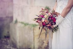 Wedding Bouquet - Modern Viking Wedding Inspiration