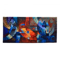 Buy hand woven Peruvian tapestries by Maximo Laura, Award Winning artist known worldwide for his use of color, texture and themes. Enter to shop. Weaving Techniques, Art Techniques, Tapestry Online, Peruvian Textiles, Textile Artists, Art Forms, Wall Tapestry, Hand Weaving, Tapestries