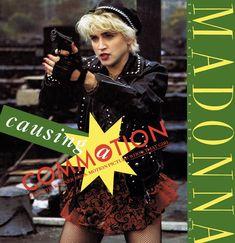 "Madonna. Causing A Commotion. 12"" Remix."