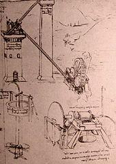 De eerste grote machine was de molen, met de windmolen kan je water wegpompen, de watermolen liet ook de zaagmachines van de houtzager continu draaien. Vroeger werden machines aangedreven dreven door mensen, dieren, stromend water, zon of wind.