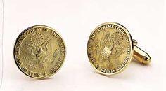 Cufflink - 14kt Gold Supreme Court Seal