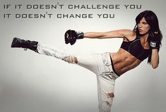 If it doesn't challenge you it does not change you