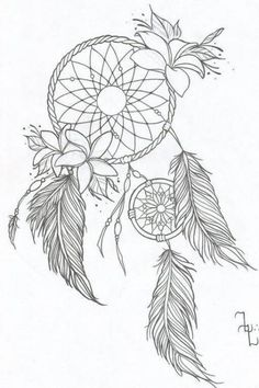 Tattoo Designs Color Dream Catchers 50 Ideas is part of Dream catcher tattoo - Dream Catcher Coloring Pages, Dream Catcher Drawing, Dream Catcher Tattoo Design, Dream Catchers, Atrapasueños Tattoo, Mandala Tattoo, Tattoo Drawings, Hand Tattoo, Chest Tattoo