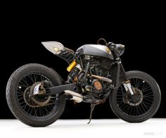 Joey Subrizi turned his Yamaha YZF 426 motocrosser into a road-going cafe racer. We like it, do you?