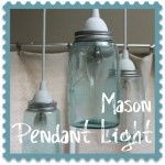 This is pinned for Tina who just bought 6 green Mason jars for her outdoor kitchen lights.