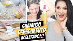 Shampoo Caseiro para o Cabelo Crescer Sem Gastar Nada!...Também vai deixar seu cabelo forte e com muito brilho! Clique para aprender essa receita!