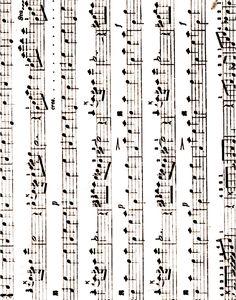 Sheet Music background - horizontal