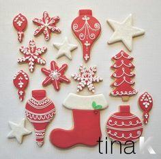 My very own gingerbread Christmas cookies www.tinak.co.uk