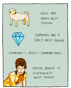 David Bowie is everyone's best friend...