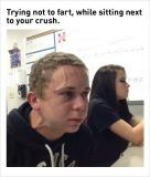 sitting next to your crush funny memes