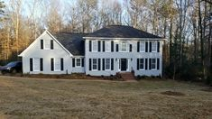 Painted Gray Brick Exterior - Color is Sherwin Williams Gray Screen SW 7071