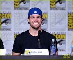 Stephen Amell at the #Arrow Comic Con Panel 2016