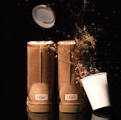 The New Classic is here. Water and stain resistant, folks. Just in time for #UGGseason.