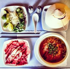 BLONDER AMBITIONS   INSTAGRAM RECAP – FOOD EDITION. pho805 – lime   bean sprouts   basil   jalapeño   coconut   raw meat   broth   rice noodles   sriracha