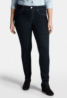 Products, Dark wash jeans and Plus size on Pinterest