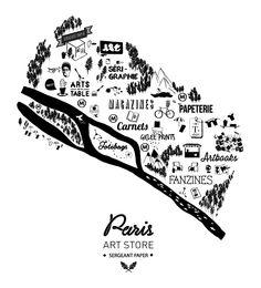 Paris Art Store - Sergeant Paper on Behance