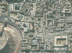 Satellitenaufnahmen zeigen die Altstadt von Aleppo im November 2010... Before!