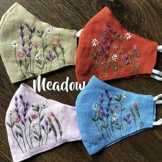 Floral Embroidery, Hand Embroidery, Embroidery Designs, Average Face, Nose Shapes, Traditional Looks, En Stock, Natural Linen, Linen Fabric