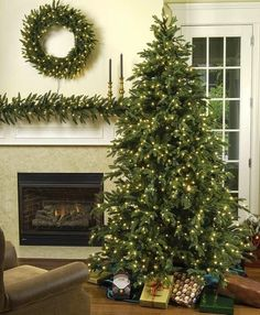 http://youlikeitmy.blogspot.com/2014/10/a-brief-history-of-christmas-trees.html A Brief History of Christmas Trees and the trend of artificial christmas tree. Artificial christmas tree 7 foot for a different look. #christmas