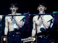 Exo Chen Shirtless