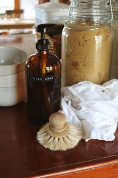 Homemade Natural Dish Soap