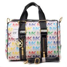 86b84c357f1638 Michael Kors Monogrammed Removable Strap Tote Light White Michael Kors  Handbags Sale, Michael Kors Satchel