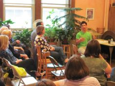 Tamarack Alumni discussing their Waldorf education to Tamarack parents and perspective parents at our Alumni Panel on May 12, 2014.