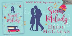 Prism Book Tours is hosting the book tour and #bookstagram tour for Sweet Melody. Sign up today! #bookstoread #romance #romancebooks