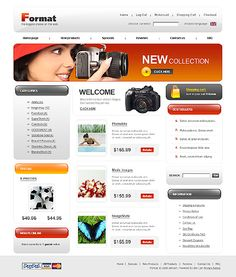 Format Photo ZenCart Templates by Di