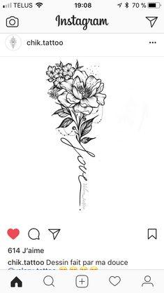 #TattooIdeasFlower