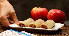 Damit wärmt man sich gerne auf. Cinnamon Apples, Cinnamon Rolls, Baking Pans, Bread Baking, Bon Ap, Apple Filling, Slice Of Bread, Party Snacks, Bakery
