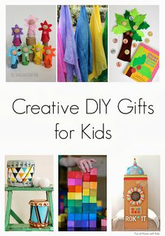 super fun diy toys - great for home or work