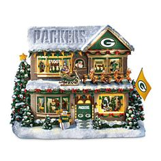 Green Bay Packers Twas The Night Before Christmas Sculpture #Packers #NFL