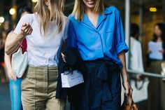 Streetstyle at New York Fashion Week. Part 5