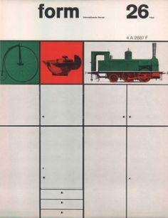 form N° 26. Jun 1964. Cover: Karl Oskar Blase. © Verlag form GmbH & Co. KG