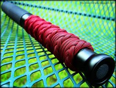 Stormdrane's Blog: Bat Light with paracord handle finger grip wrap......