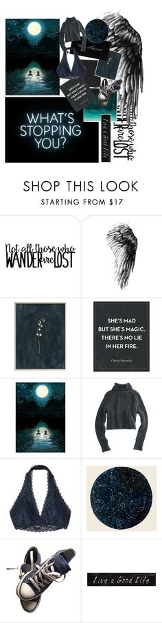 """Splash of water - rhythm. The whiff of the wind is a melody. Nature at night - music"" by pisces06-03-01 ❤ liked on Polyvore featuring WALL, ADAM, T By Alexander Wang, Hollister Co., Converse and 3R Studios"