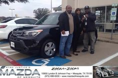 Congratulations Tony on your #Kia #Soul from Mike Turner at Mazda of Mesquite!  https://deliverymaxx.com/DealerReviews.aspx?DealerCode=B979  #MazdaofMesquite