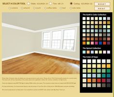 Yolo colors for the over all room Ceiling: Nourish02 Walls: Nourish01 Trim: Air01 #roomandboard, #annies, and #yolocolorhouse