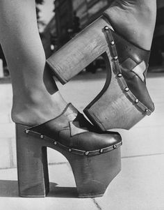 London shoe fashion, 1970s