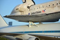 Discovery, mated to its 747 carrier aircraft, will start today its final flight from Kennedy Space Center to the Smithsonian in NY
