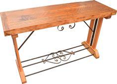Reclaimed Wood Bedroom Furniture, Custom Furniture, Furniture Design, Entryway Tables, Sofa, Home Decor, Bespoke Furniture, Settee, Decoration Home