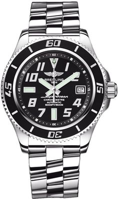 @breitling  Watch Superocean 42 #bezel-unidirectional #bracelet-strap-steel #brand-breitling #case-depth-15mm #case-material-steel #case-width-42mm #date-yes #delivery-timescale-call-us #dial-colour-black #gender-mens #luxury #movement-automatic #official-stockist-for-breitling-watches #packaging-breitling-watch-packaging #subcat-superocean #supplier-model-no-a1736402-ba28-161a #warranty-breitling-official-2-year-guarantee #water-resistant-1500m
