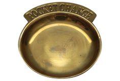 One Kings Lane - Brass Pocket Change Dish