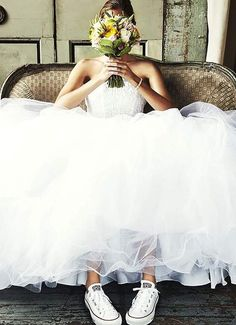 basket mariage femme robe et bouquet #marige #wedding #ideas
