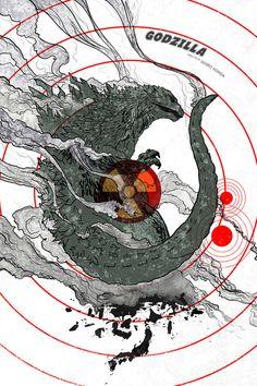 GODZILLA (1954) by edgarascensao.deviantart.com on @DeviantArt